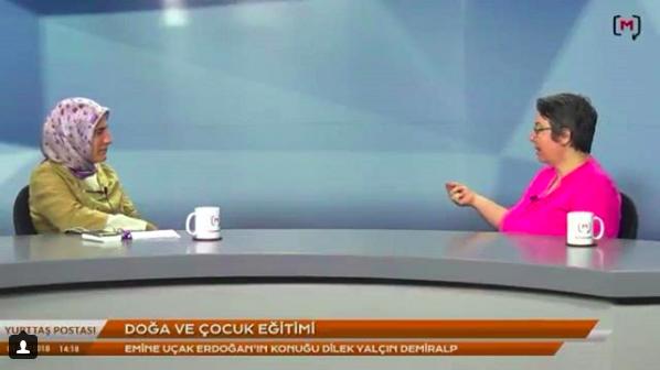 Medyascope TV'de, Yurttaş Postası Programında, Emine Uçak Erdoğan'ın Konuğu Olduk