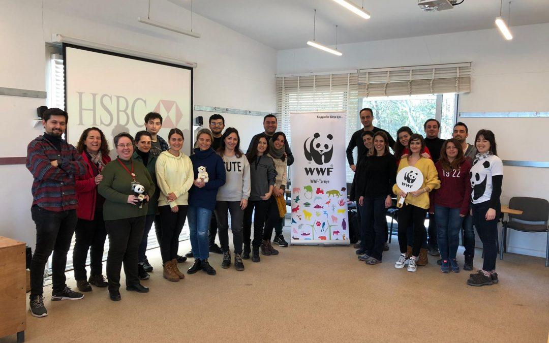 WWF Türkiye'nin Düzenlediği Yağmur Suyu Hasadı Eğitimlerinde Eğitmenlik Yaptık