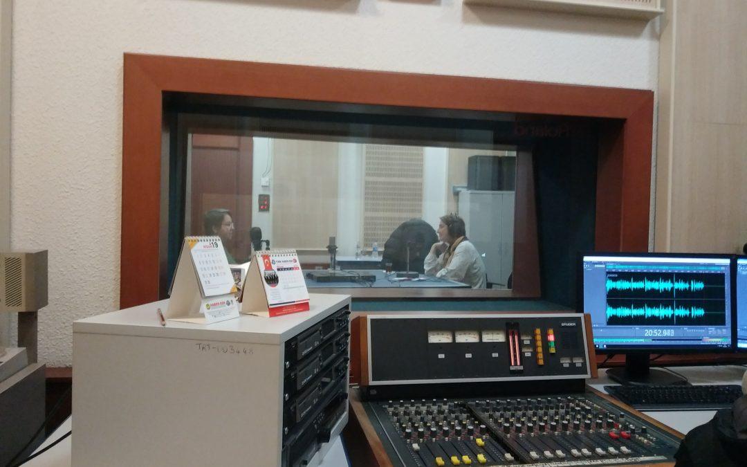 TRT1 İstanbul Radyosu Yeşil Gündem Programına konuk olduk