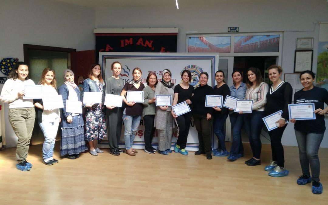 Batı Karadeniz Kalkınma Ajansı (BAKKA) Projesi ile Karadeniz Ereğlisinde Anaokulu Öğretmenlerine Permakültüre Giriş Kursu Verdik